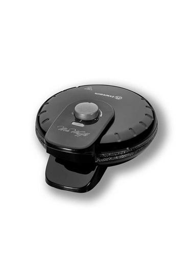 Korkmaz Mia Siyah Waffle Makinesi Siyah